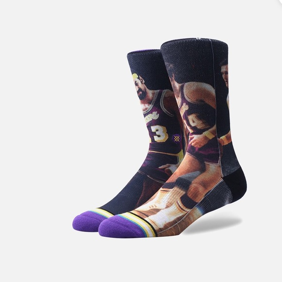 3/$20 or 4/$25 Stance NBA Chamberlain West Lakers